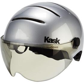 Kask Lifestyle Helmet incl. visor argento silver matte